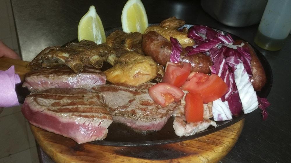 Carne alla griglia Bresso