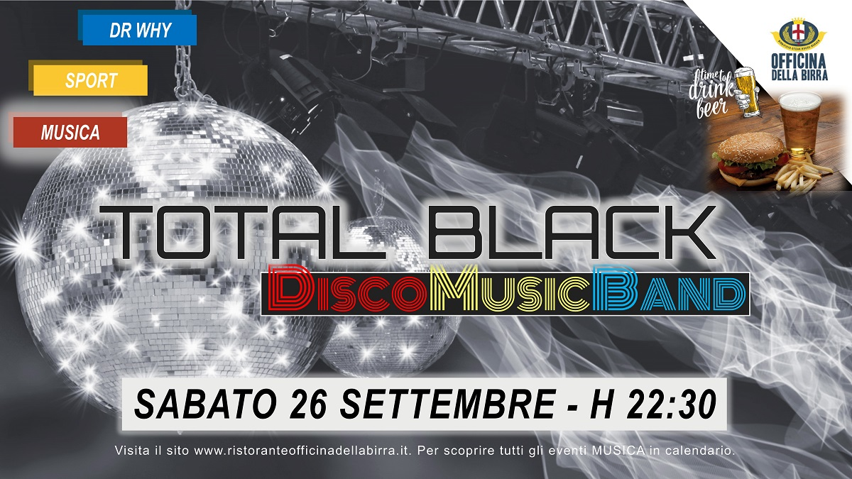 TOTAL BLACK 26 SETTEMBRE FB